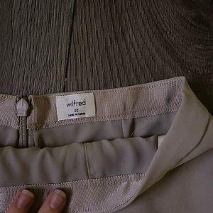 Aritzia - A-Line Mini Skirt